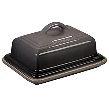Le Creuset Heritage Stoneware Butter Dish, Oyster
