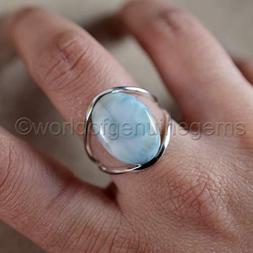 White Quartz Ring Statement Ring Prong Setting Ring Handmade Silver Plated Ring Designer Ring Faceted Gemstone Ring Gift For Her