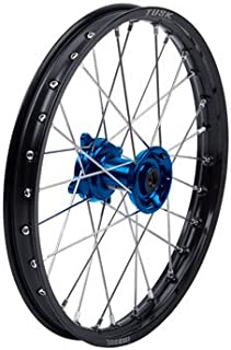 Impact Complete Wheel Front 21 x 1.60 Black Rim//Silver Spoke//Blue Hub for Yamaha YZ250 1999-2019