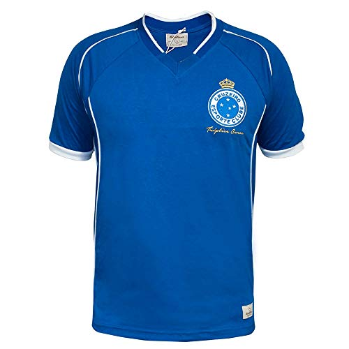 Camisa Retrô Cruzeiro 2003 Tríplice Coroa