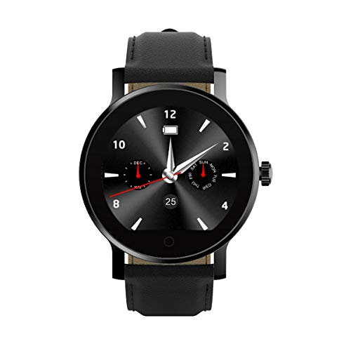 Diggro K88H Plus Smartwatch Sportivo Orologio Intelligente Smart Watch wear Android IOS Pedometro Frequenza Cardiaca Chiamata SMS Reminder Monitor Nero