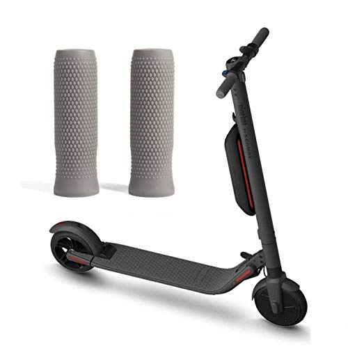 (ES-Series) Grips for The Ninebot by Segway ES2 ES4 Electric Kickscooter - Throttle Brake Batteries etc (Grey)