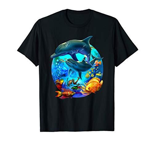 Delphin Dolphin Sea Life TShirt