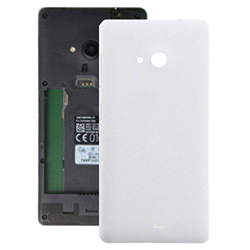 IPartsBuy Akku Rückseite for Microsoft Lumia 535 Zubehör Ersatz Von Zubehör (Color : White)