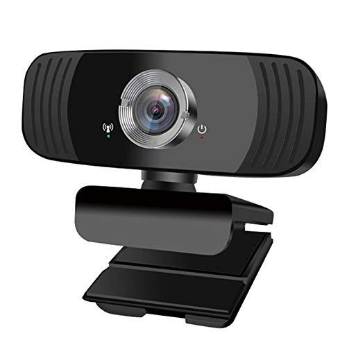 Webcam USB Mini Câmera de Computador Microfone Embutido - Full HD 1080P