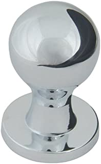 Atlas Homewares A800-CH 3/4-Inch Euro-Tech Collection Nipple Knob, Polished Chrome