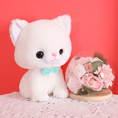 PBCX Kawaii Gato Sentado Felpa Suave Almohada Lindo Animal de Peluche Juguetes muñeca para Chico Regalo de cumpleaños de San Valentín Presente 40CM