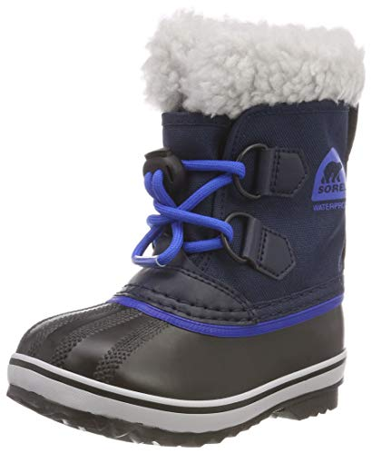 Sorel Girls' Children's Yoot Pac Nylon Snow Boot, Collegiate Navy, Super Blue, 11 M US Little...