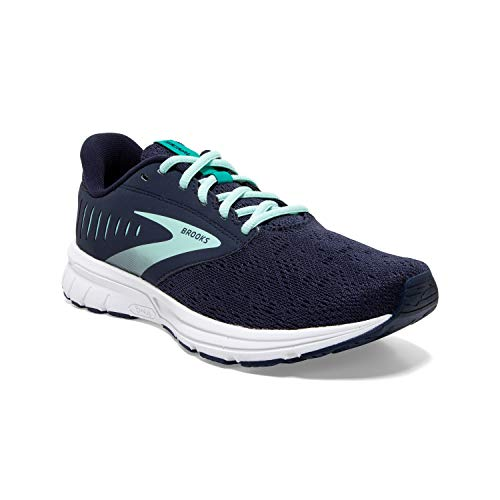 Brooks Womens Signal 2 Running Shoe - Peacoat/Fair Aqua/Silver - B - 8.5
