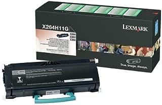 Lexmark OEM Toner X264H11G (1 Cartridge) (X264H11G) -
