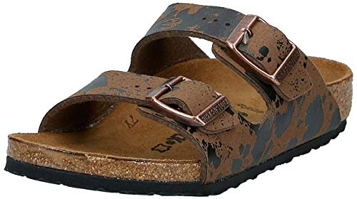 BIRKENSTOCK Jungen Arizona Sandalen, Beige (Color Sprays Beige Color Sprays Beige), 34 EU
