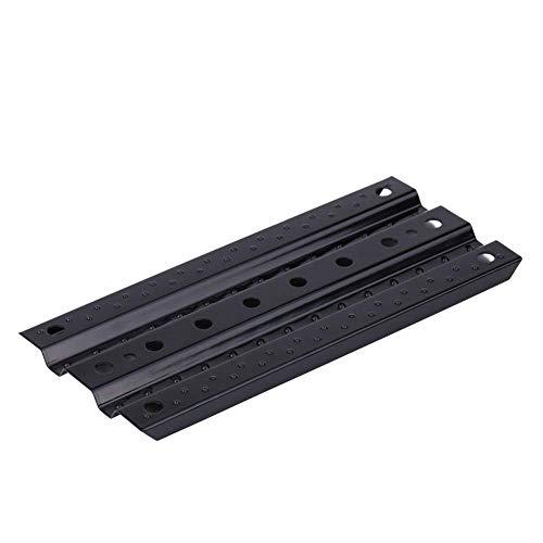 Dilwe Metal Escalera de Arena para SCX10 1/10 Scale RC Crawler, Accesorio de Control Remoto(Negro)