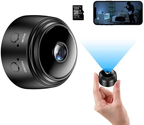 Mini Camera with 32G SD Card Wireless WiFi Small Camera 1080P HD Home Security Surveillance product image