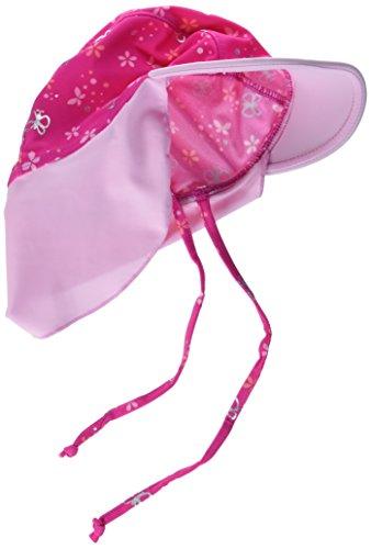 Sterntaler Baby-Mädchen Schirmmütze mit Nackenschutz, 45 Kappe, Pink (Magenta 745)
