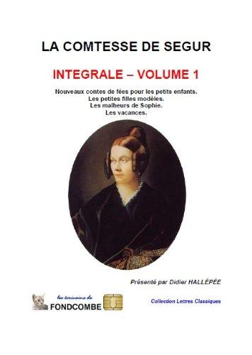 La comtesse de Ségur - Nouveaux contes de fées, Les petites filles...