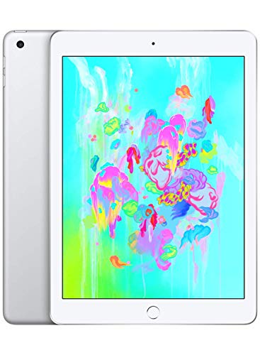 Apple iPad 9.7 (2018) 32GB Wi-Fi - Silver (Renewed)