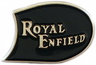 Spilla in metallo smaltato per moto Royal Enfield anni '60 British Rocker moto