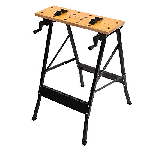 Folding Work Bench Table Tool Workshop Repair Tools Table Shop Workbench Vice Portable Work Table Bench Clamping Workmate Worktop 150kg