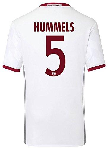 Trikot Adidas FC Bayern München 2016-2017 Champions League (Hummels 5, 152)
