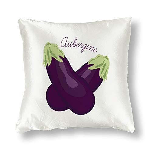 perfecone Home Improvement - Funda de almohada de algodón para sofá y coche, 1 paquete de 45 x 45 cm