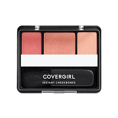 COVERGIRL Instant Cheekbones Contouring Blush Purely Plum 220, 0.29 Ounce Pan (packaging may vary)
