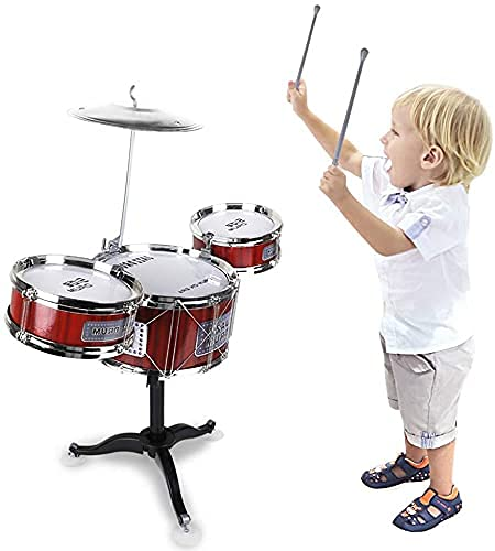 CBOX Kids Drum Set Toddler Instrument Set Educational Percussion Stimulating Children's Creativity Drum Set for Kids Ages 3-5 Boys and Girls Ideal Gift