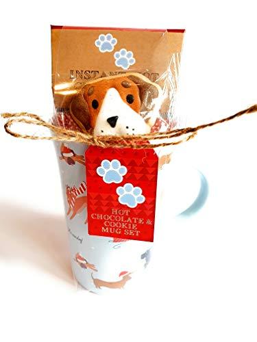 Geschenk-Set für heiße Schokolade.