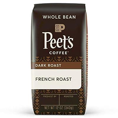 Peet's Coffee French Roast, Dark Roast Whole Bean Coffee, 12 oz