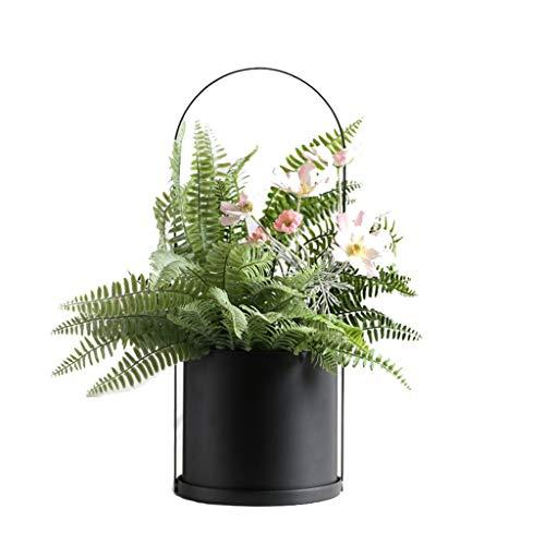 CGF-Supports de pots Étagère Pot Rack Fleur Rack Fer étagère Rack/Salon Balcon et intérieur extérieur Plante Cadre Cadre en métal bonsaï Affichage Cadre Taille 15x38 cm / 18x48 cm
