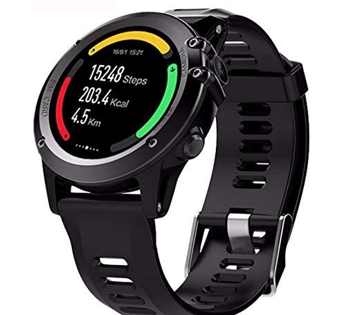 Reloj de Pulsera Inteligente WiFi Bluetooth Paso Frecuencia cardíaca GPS Posicionamiento Reloj Recordatorio Inteligente