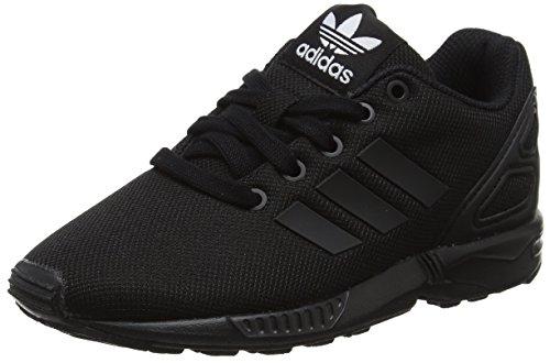 adidas ZX Flux C, Scarpe da Ginnastica Basse Unisex-Bambini, Nero (Core Black/Core Black/Core Black), 31 EU