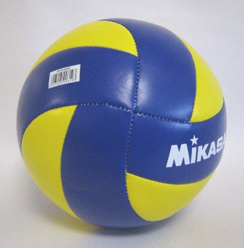 『ミカサ(MIKASA) バレーボール 4号 レクリエーション レジャー用 (中学生・婦人用) イエロー/ブルー 推奨内圧0.25(kgf/㎠) MVA4000』のトップ画像