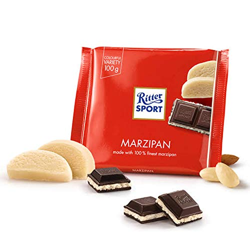 Ritter Sport Marzipan 100 g (Pack of 8)