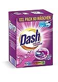 Dash® Color Frische 3 in 1 Caps XXL-Sparpack I 60 Waschladungen I Waschmittel-Caps für bunte...
