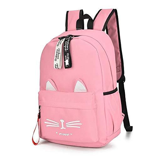 Primary Schultasche, 6-12 Jahre Alt Weiblich, Kinderrucksack 4-6 Klasse Mädchen Rucksack 1-3 Klasse 5 Jungen Und Mädchen,Pink,36 * 12.5 * 26
