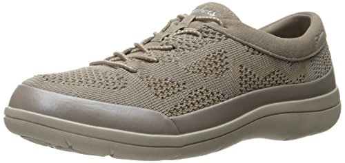Skechers Damen Lite Step- Reactive Sneakers, Beige (Dktp), 39 EU