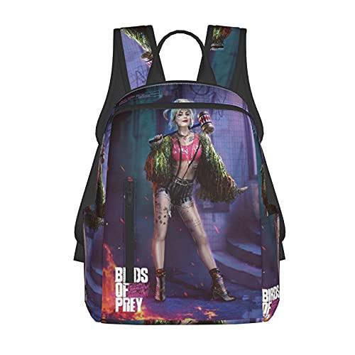 Mochila escolar para niños/niñas y adolescentes, divertida impresión 3d Se_Xy Jo_Ker de moda ligera senderismo portátil mochila, Black3, Talla única