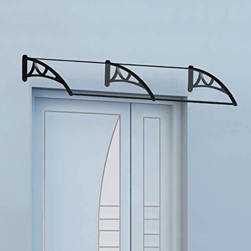 LXXL PC Policarbonato Porta Tenda Canopy Pioggia Neve Resistente Patio Copertura Veranda Sail Garden Sun Gazebo (Size : 60×120cm)