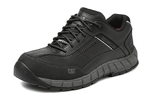 CAT - Streamline P721647 - Zapato de seguridad plano S1P negro