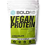 Boldfit Plant Protein Powder For Men & Women (Chocolate 500gm)
