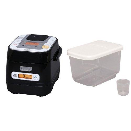 アイリスオーヤマ 米屋の旨み 銘柄量り炊き 分離式IHジャー炊飯器 3合 RC-IA30-B(274015)