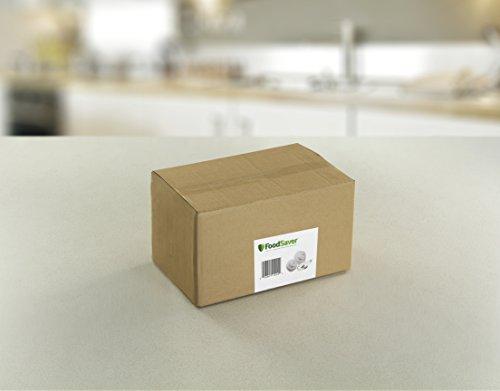 FoodSaver Vacuum Sealer FCARWJAH-000 Wide-Mouth Jar Kit with Regular Sealer and Accessory Hose, White