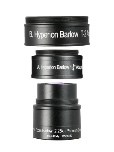 Baader Planetarium Hyperion - Ocular con Lente Barlow (Zoom 2,25x)
