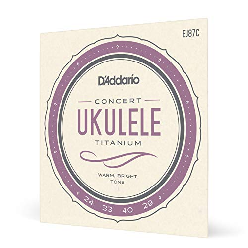 D'Addario EJ87C Saitensatz Titanium Ukulele Concert