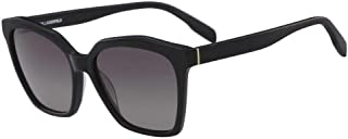 Karl Lagerfeld Oval KL957S Black Sunglasses for Women