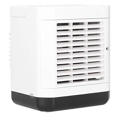 01 Ventola del radiatore dell'Aria, Ventola del condizionatore Portatile per L'Ufficio per la casa(Bianco)
