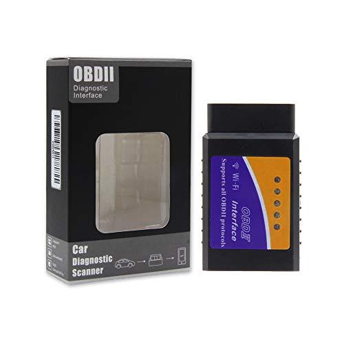 Mr auto lettore di codice OBD2auto Scan Tool OBD scanner collegamento tramite WiFi senza fili con dispositivo iOS, Android e Windows, features 3000codice database