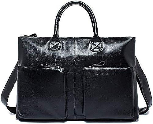 Briefcase Home Herren Tasche Retro Casual Herren Handtasche Schultertasche Messenger Bag Herren Aktentasche