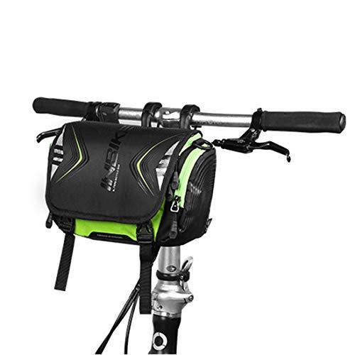 HBGGGGG Fietsframe Tassen Fietstas Voorlicht Eerste Tas Verhoogd Waterdicht Mountainbike Voortas Rijuitrusting Accessoires Voor Fietsen en Fietsen Oefeningen
