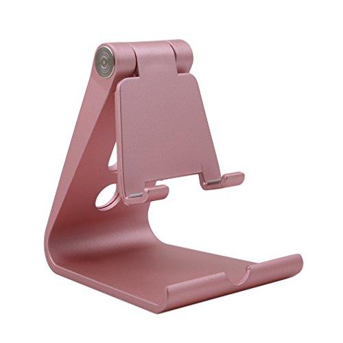 HENGSONG Support Voiture Auto, Modohe Support Téléphone Universel Portable Fixation Puissante pour La plupart des Téléphones Mobiles (Or)